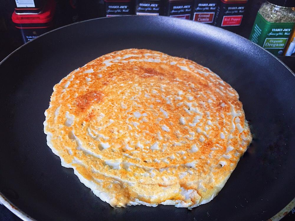 Omelete de Grão de Bico Vegano