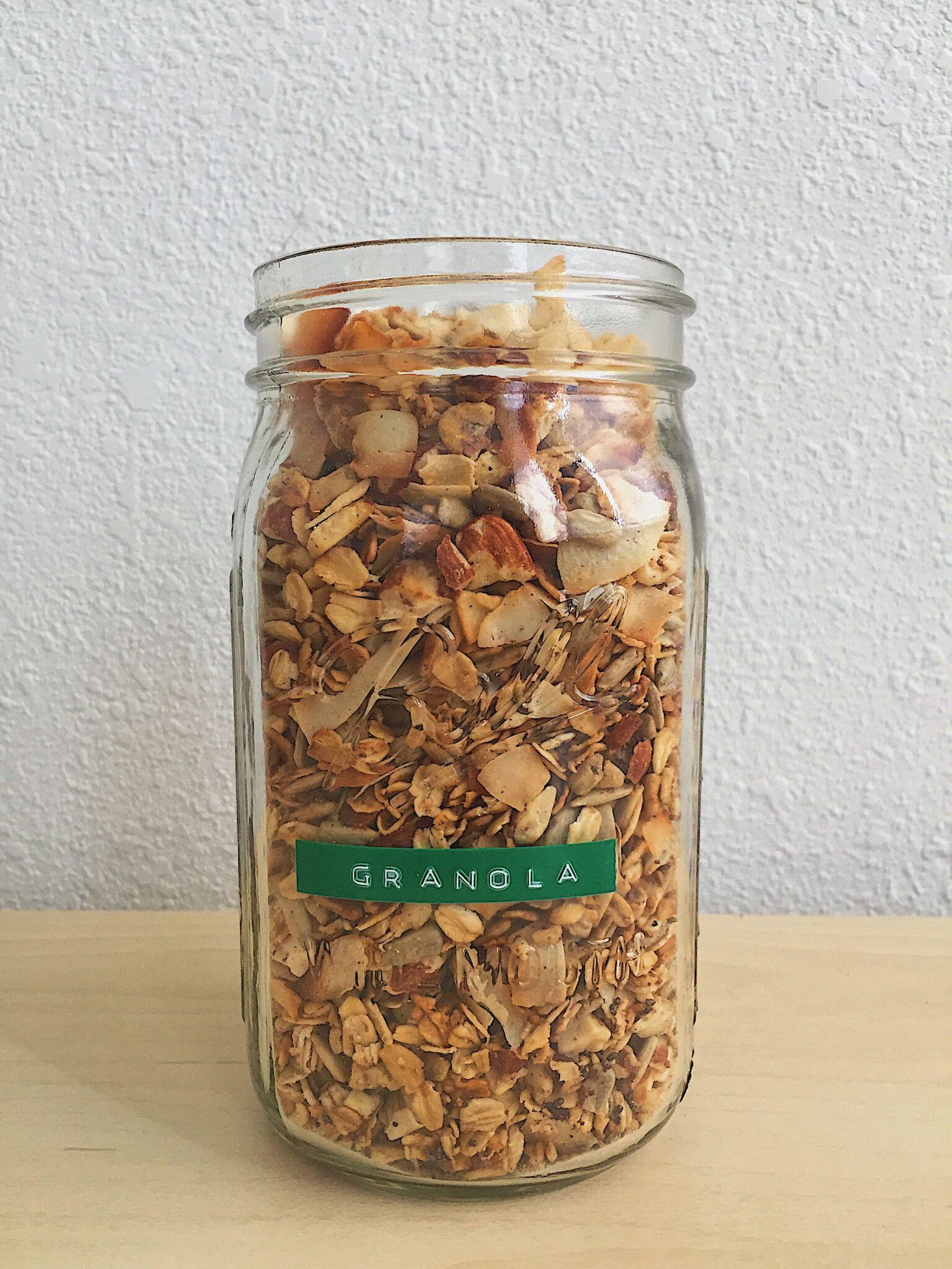 GRANOLA DE FRIGIDEIRA