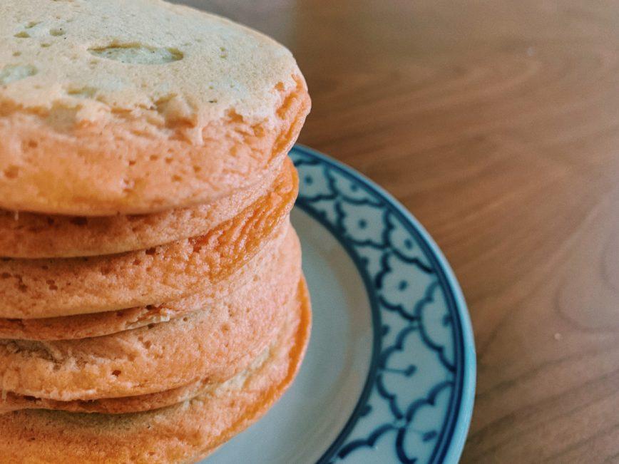 Pão de frigideira de lentilhas